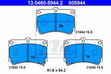 Bremsbelagsatz, Scheibenbremse für Bremsanlage Vorderachse ATE 13.0460-5944.2