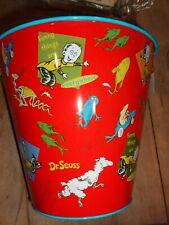 Dr. Seuss Sand Pail Child'S Tin Toy Beach Children Children'S Fun Is Everywhere