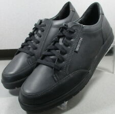 LUDO BLACK MMSP75 Men's Shoes Size 8.5 M (EUR 8) Leather Lace Up Mephisto