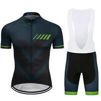 2021 New Pro Cycling Jersey Bib Shorts Kits Short Sleeve Shirt Pad Shorts Set