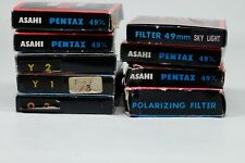 Asahi Pentax Filters!!! Lot of TEN!!! 49 and 58mm