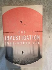 Double Signed First Edition 1st Printing The Investigation Jung Myung-Lee H'back