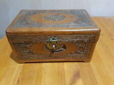 More details for vintage mid century oriental camphor wood box