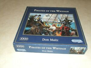 Gibsons Puzzles - 1000 Piece Jigsaw Puzzle - Pirates of the Whydah - Complete