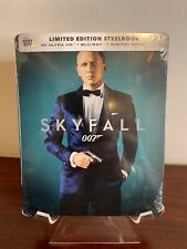 Skyfall 007 Steelbook (4K UHD/Blu-ray/Digital) Factory Sealed