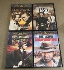 Burt Lancaster Collection- 4 Dvd Set, The Unforgiven,VeraCruz,The Kentuckian