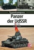 Panzer der UdSSR 1917-1945 Russland Typenkompass Modelle Typen Panzer Buch Book