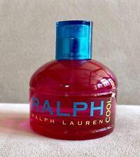 RALPH LAUREN COOL Eau de Toilette Perfume 3.4 Oz 75% Remaining In Bottle