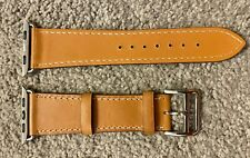 Kartice IWATCH049BN0142 Genuine Leather Watch Band 42mm - Single Tour Brown