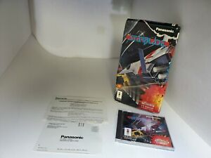 STARBLADE for the 3DO CIB complete W/Damaged Box CD IS MINT E36