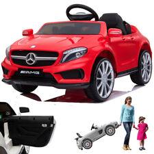 Mercedes GLA45 AMG Kinderauto Kinderfahrzeug Kinder Elektroauto mit Tür Rot