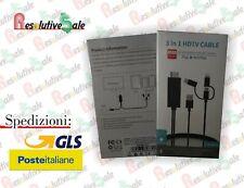 ADATTATORE CAVO DA TELEFONO A TELEVISORE MHL HDMI CELLULARE TV CV007-HDMI