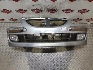 DAIHATSU SIRION 2004 Front Bumper with chrome mouldings on numper