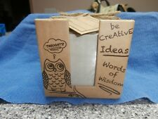 Owl Memo Set with Pen