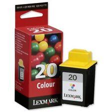 Lexmark 20 15M0120E Tri-Colour Ink Cartridge Original Genuine