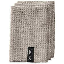 Ladelle Microfibre Dish Cloths Pack of 3 Stone
