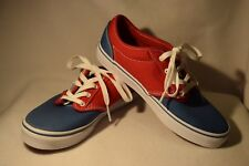 NEW Girls Boys Unisex Size 5 Vans Atwood 2-Tone Red/Blue Patriotic Sneaker Shoe
