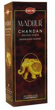 Hem Best Seller Madhur Chandan Incense Sticks 120-Sticks Free Shipping