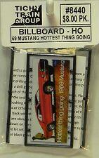 NIB HO Tichy #8440 '69 Mustang Billboard Kit