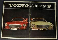 1964 Volvo 1800 S Catalog Sales Brochure Original 64