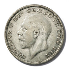 Great Britain King George V Silver Half Crown 1930 Key Date Very Fine KM-835