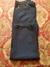 mens navy blue denim jeans Cimarron size 40.