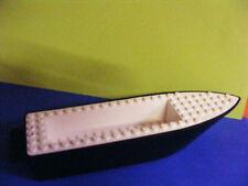 Lego -- barco -- barco -- casco -- negro/blanco -- 26 x 6 tachas --