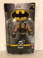 New Batman Missions Bane Figure by Mattel (Free Shipping)
