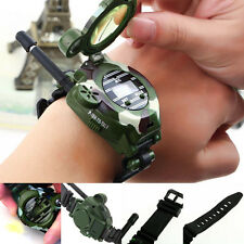2 Pcs Children Parent Toy wrist Watch walkie talkie kids Intercom Set Outdoor