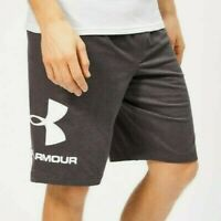 Mens Under Armour Sportstyle Charged Cotton Graphic Shorts - Large - NWT
