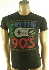 SUPER NINTENDO NEW nwot BLACK MADE IN THE 90'S GRAPHIC PRINT T-SHIRT S SMALL
