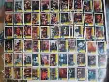Teenage Mutant Ninja Turtles Movie Complete Set (Topps 1990) + Bonus Cards Ooze