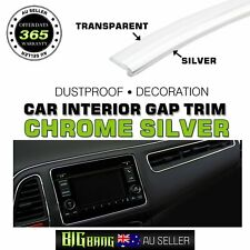 8M Chrome Silver Gap Trim Decor Garnish Line Car Auto Gaps Moulding Strips Decor