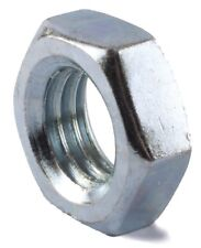 Qty 50 M8 (8mm) Hex Lock Nut Thin Half Jam Zinc HIGH TENSILE CLASS 8
