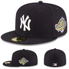 New Era New York Yankees Fitted Hat 1996 World series Official Grey Under Brim