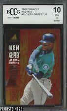 1995 Pinnacle Red Hot Insert Ken Griffey Jr. Mariners HOF BCCG 10