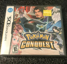 Pokemon Conquest (Nintendo DS, 2012).  BRAND NEW FACTORY SEALED!!!