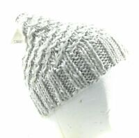 Capelli Beanie Women's One Size Gray Knit Winter Hat Casual Soft