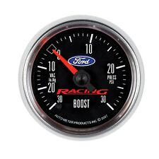 880074 Autometer fits Ford Racing 52Mm Full Sweep Electric 30 In Hg-Vac/30 Psi