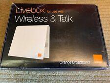 Orange Broadband Livebox New!