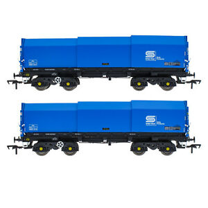 Accurascale ACC2122-BSC-3 JSA Bogie Covered Steel Wagon Twin Pack