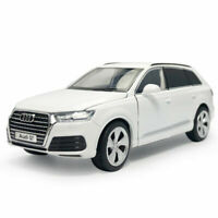 1:32 Audi Q7 SUV Model Car Alloy Diecast Gift Toy Vehicle Kids White Sound Light
