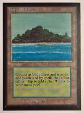 Magic: The Gathering INTERNATIONAL EDITION Card TROPICAL ISLAND Near Mint NM