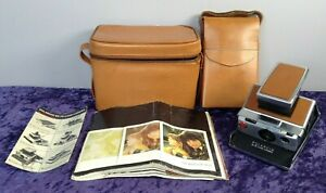 Vintage Polaroid SX-70 Land Camera Model 2 In Carry Case