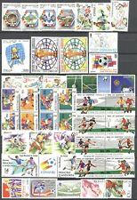 Fußball WM 1982, Soccer - LOT ** MNH + Belege