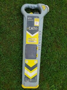 Radiodetection SPX eCAT4+ cable avoidance tool strike alert cat 4 depth locator