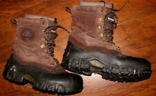 Rocky 7908 200 Gram Brown Suede Leather Winter Hunting Lace Up Boots Men's 9M