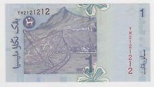 YM 2121212 RM1 Zeti UNC Malaysia