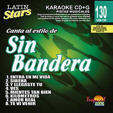 Karaoke Latin Stars 130 Sin Bandera Vol.1