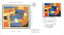 France (Maurice Estéve, Skibet 1979  FDC Culan 1986